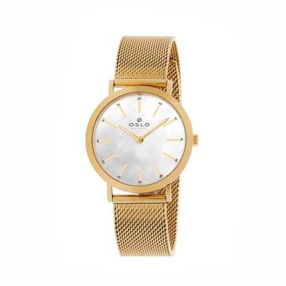 Relógio Oslo Feminino Dourado