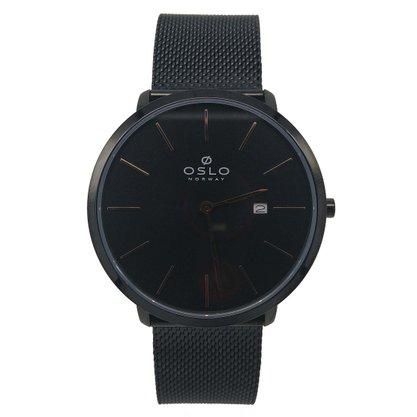 Relógio Oslo Masculino Preto