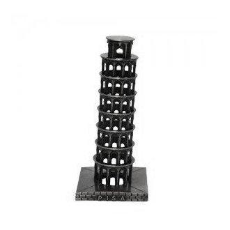 Torre de Pisa Metal 18cm