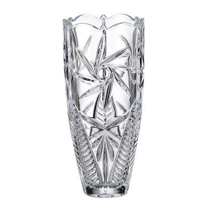 Vaso Bohemia Crystalite Pinwheel