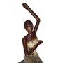 Dançarina Decorativa Marrom