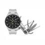 Kit Relógio Orient Masculino Cronógrafo