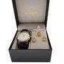 Relógio Champion Feminino Dourado Kit