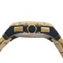 Relógio Orient Masculino Dourado e Preto Cronógrafo