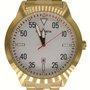 Relógio Mondaine Masculino Dourado com Calendário