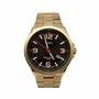 Relógio Orient Masculino Calendário Dourado