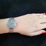 Relógio Oslo Feminino Prateado